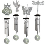 Mandala Wind Chime - Assorted (12)