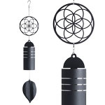 Metal Wind Bell - Seed of Life