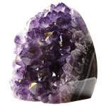 Decorator Mineral Request - Amethyst Polished Edge Stand-up Clusters