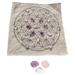 Crystal Grid Kit - Flower of Life - Love