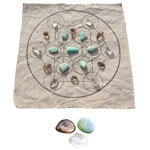 Crystal Grid Kit - Metatrons Cube - Healing