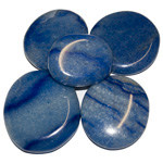 Earth Stones - Blue Quartz (1 lb)