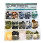 Earth Stones Display - 15 Bin (prepack)