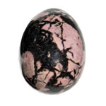 Gemstone Egg - Rhodonite