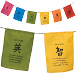 Kanji Inspiration Flags