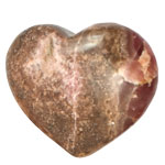 Specialty Puffy Heart - Rhodochrosite