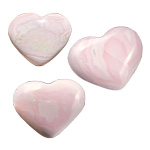 Specialty Puffy Heart - Mangano Calcite