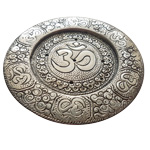 Metal Incense Holders - Om