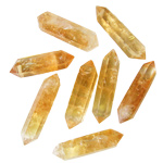 Polished Jewellery Point Crystal - Citrine A Grade