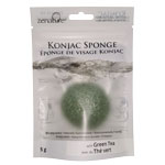 Konjac Sponge - Green Tea (5)