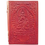 Zenature Leather Journal - Buddha (4 x 5 inch)