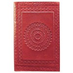 Zenature Leather Journal - Mandala (4 x 5 inch)