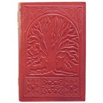 Zenature Leather Journal - Tree of Life (4 x 5 inch)