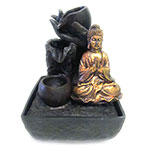 Fountain - Meditation Buddha 5% OFF