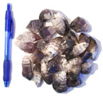 Mineral and Fossil Treasures - Amethyst Chevron Points (Size 1) (25 pcs)