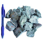 Mineral and Fossil Treasures - Fuchsite Rough (Size 1) (24 pcs)