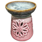 Oil Heater - Lotus Mandala - Pink / Blue