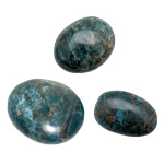 Palm Stone - Blue Apatite (Medium)