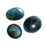 Palm Stone - Blue Apatite (Small)