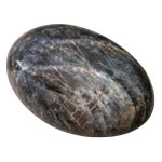 Palm Stone - Black Moonstone