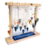 Small Pendulum Display - Faceted / Metal (27/display)