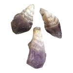 Amethyst Chevron Points - Rough (1 lb)