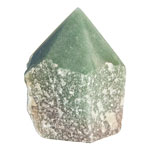 Cut Base Point - Green Aventurine