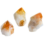 Cut Base Top Polish Point - Citrine