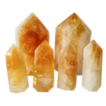 Polished Point - Citrine - Brazil