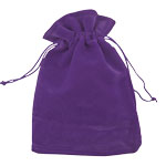 Velvet Gem Bags - Purple Medium (12)