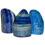 Free-form Polished Sculptures - Lapis Lazuli