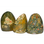 Free-form Polished Sculptures - Rhyolite