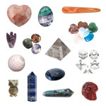 Shaped Minerals and Crystals