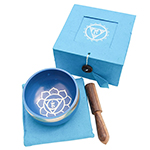 Singing Bowl Gift Set - Blue (3 inch)