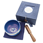 Singing Bowl Gift Set - Indigo (3 inch)