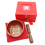 Singing Bowl Gift Set - Red (3 inch)