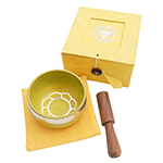 Singing Bowl Gift Set - Yellow (3 inch)