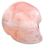Crystal Skull - Rose Quartz