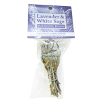 Zenature Smudge Blend - White Sage and Lavender, Small Bundle