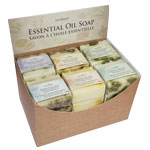 Zenature Essential Oil Soap Display (24/Display)