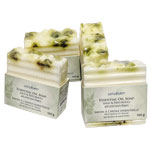 Zenature Essential Oil Soap - Sage Patchouli (4)