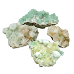Crystal Request - Green Apophyllite Clusters