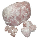 Mineral Request - Rose Quartz Chunks and Boulders