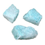 Blue Aragonite Rough Specimens - Bulk (1 lb)