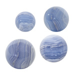 Gemstone Sphere - Blue Lace Agate