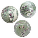 Gemstone Sphere - Ruby Fuchsite