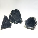 Black Amethyst Specimens