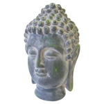 Resin Statue - Meditation Buddha Head