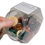 Thumbstone Hexagon Bin Display (36/display)