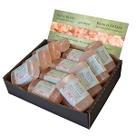 Himalayan Salt Bar Display - Soap Shaped (18/display)
